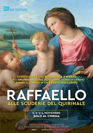 """""""Raffaello alle Scuderie del Quirinale"""" Evento speciale, distribuito per Adler Entertainment"""