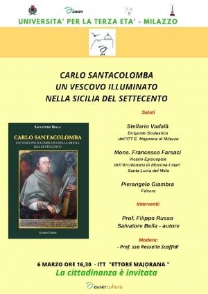 Milazzo: presentazione del libro di Salvatore Bella sul vescovo Carlo Santacolomba al Majorana