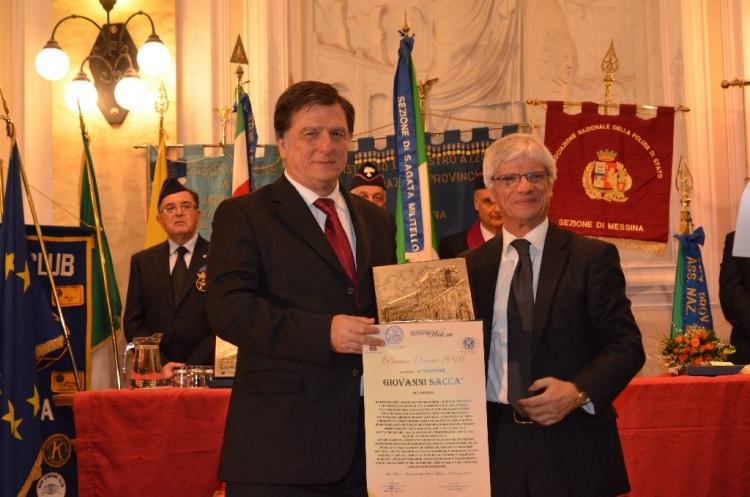 Premio Orione 2016 -  Giovanni Saccà.