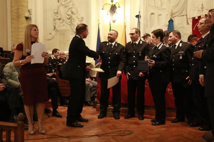 PREMIO ORIONE SPECIALE 2017 - Attestato di Benemerenza conferito al Personale  di Polizia Penitenziaria di Messina  comandata dal  Commissario Coordinatore  Antonella C. MACHI'