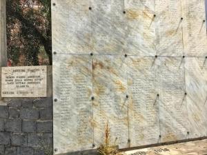 Barcellona Pozzo di Gotto: il Network programma nuovi pannelli su luoghi e personaggi cittadini e interviene sul problema delle lapidi dedicati ai morti delle guerre mondiali