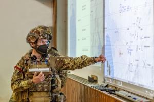 """Esercito, la Brigata Aosta e l'addestramento """"virtual""""  Soldati e Unità si addestrano con il sistema di simulazione Virtual Battle Space."""