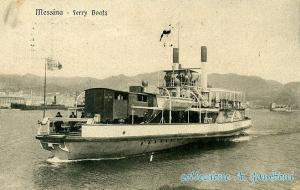 Uora  uora  arrivau  ' u ferribot! La prima nave traghetto Cariddi sullo Stretto di Messina