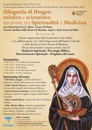 Interessante convegno di medicina spirituale il 14 febbraio