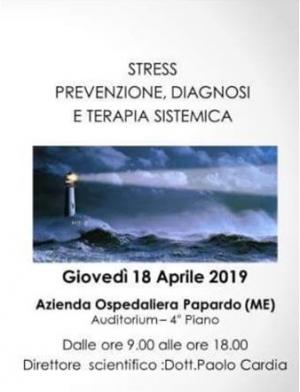 Convegno18 aprile dalle h 8.45 AGENDA OSPEDALIERA PAPARDO MESSINA 4° piano AUDITORIUM. La Dott ssa Ilenia Coletti tratterà il tema dell'ipnosi e del training autogeno nella gestione sistemica dello stress.