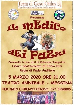 Ammi Messina e Terra di Gesù insieme...10 euro di solidarietà.Prenota il tuo biglietto al 3775298805
