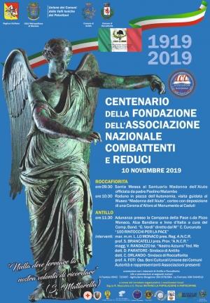 Centenario dell'Associazione Nazionale Combattenti e Reduci
