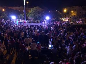 """Messina -  La PIAZZA UNIONE EUROPEA  HA VISTO CON SUCCESSO UNA GRANDE FESTA DELL'AMICIZIA PONENDO L'ACCENTO SU """" U PIPI RUSSU"""""""