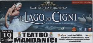 Barcellona Pozzo di Gotto: Il lago dei cigni al Teatro Mandanici con il Balletto di San Pietroburgo