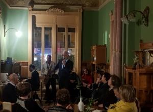 La splendida Villa Aelthea a Villa Drago e il concerto di Riccardo Pirrone e la sua band