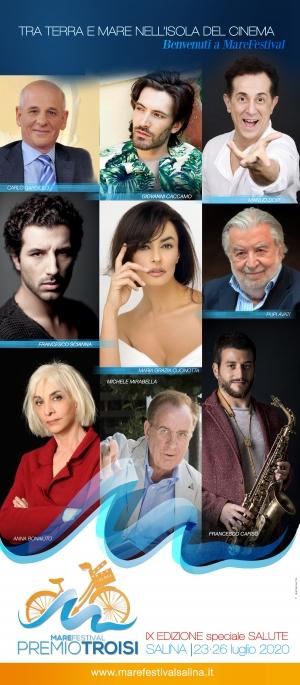 """Premi sezione """"Musica"""" a Giovanni Caccamo e Francesco Cafiso Al  Salina Festival"""