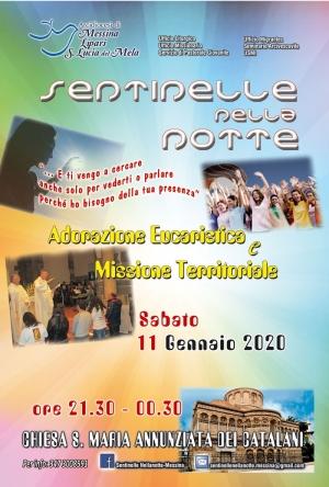 Missione eucaristica nel territorio. Sabato a Messina