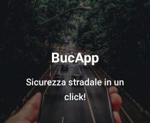"""La nuova App  La BucaApp di """"Aiace""""  segnala i pericoli del manto stradale"""