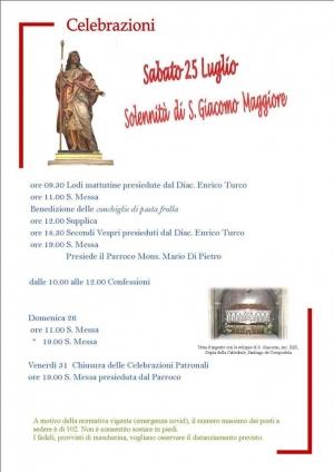 Festivita' di San Giacomo