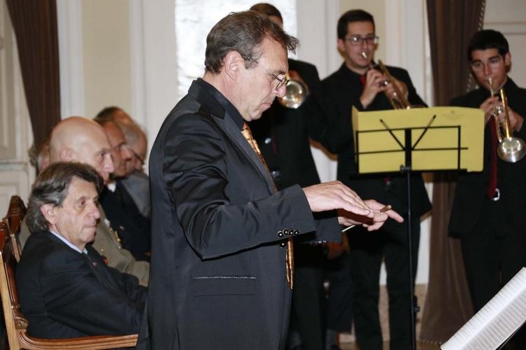 """Messina 6.12.2018 - Premio Orione - si ringraziano i """"THE SOUND OF BRASS"""" Ensemble d'ottoni e percussioni del Conservatorio """"A. Corelli """" di Messina - Direttore: S. Cardullo"""