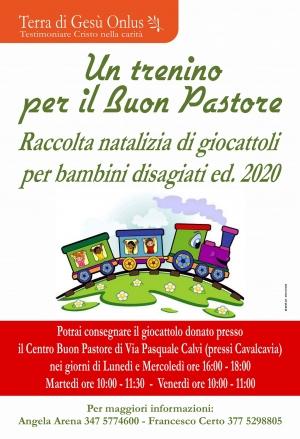Messina - Riparte Un trenino per il Buon Pastore:dona anche un giocattolo nuovo.