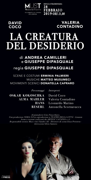 RITORNA AL MUST 'LA CREATURA DEL DESIDERIO' . TESTO DI ANDREA CAMILLERI E GIUSEPPE DIPASQUALE