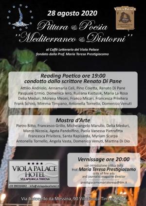 Continua la Mostra d'arte al Viola Palace Hotel ( sino al 28 ottobre) Partecipazione straordinaria di Vasta Privitera Marullo Pietrafitta e Francesco Grillo