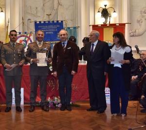 """Premio Speciale Orione 2019 - """"Attestato di Benemerenza"""" -  Tenente Alfio PALUMBO, appartenente Comando Brigata Meccanizzata """"Aosta""""."""