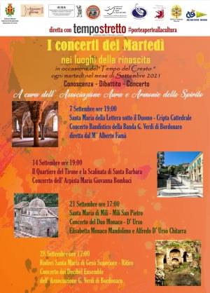 Concerti free nei luoghi storici o caratteristici a Messina