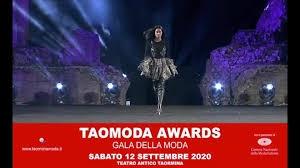 TAOMODA AWARDS IL GALA DEI TAO AWARDS 2020 Serata magica  tra Occidente e Oriente