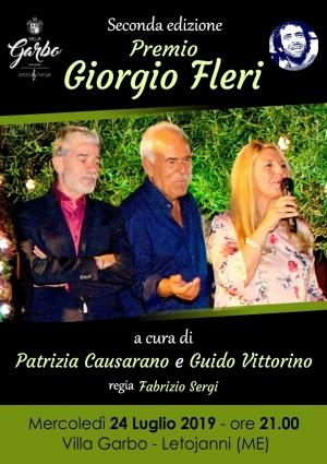 o Fleri il 24 luglio  a Villa Garbo con Patrizia Causarano
