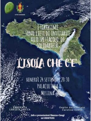 """""""L'isola che c'è"""" de I FIKISSIMI, il 24 settembre al Palacultura Serata per la Charity con la paraolimpica Costa e con lo """"scatenato"""" artista Sindaco De Luca"""