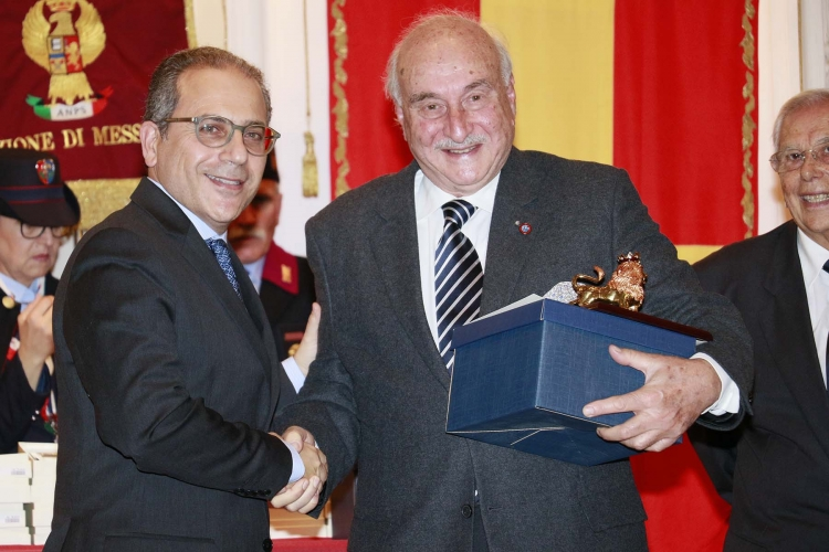 Messina 6.12.2018 - Premio Orione - al Prof. Carmelo ROMEO