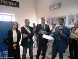 Barcellona Pozzo di Gotto: cerimonia per il cinquantesimo anniversario dello scontro ferroviario nella galleria di S. Antonio