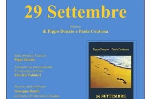 Pippo Donato e Paola Contessa, 29 Settembre. Romanzo