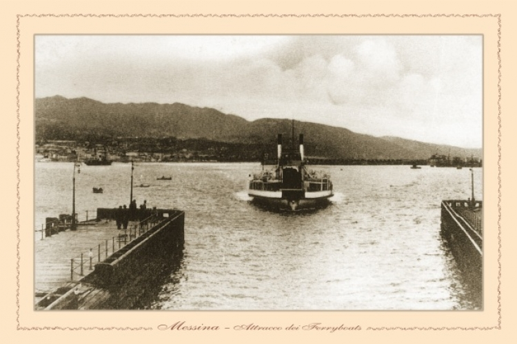 Messina - attacco dei ferryboats