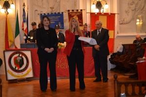 Messina 6.12.2018 - Premio Orione - alla Dott. Letizia Bucalo Vita