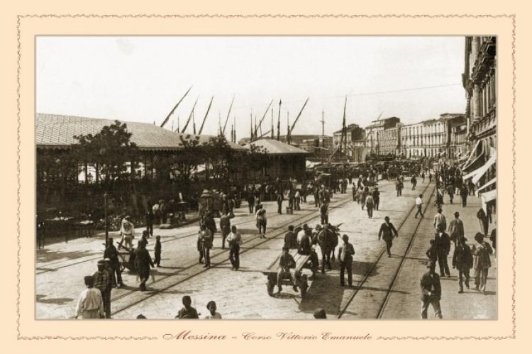 Messina - Corso Vittorio Emanuele