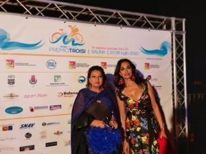 MareFestival di Salina con successo Al decennale con media partner RAI CUCINOTTA madrina del Festival