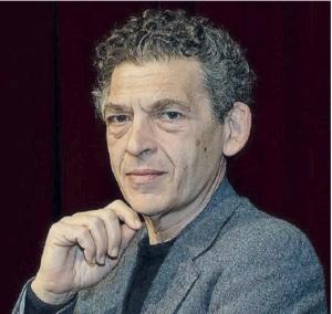Ninni Bruschetta attore e il direttore d'orchestra pianista il maestro Cettina Donato al Savio .Presente Claudio Fava