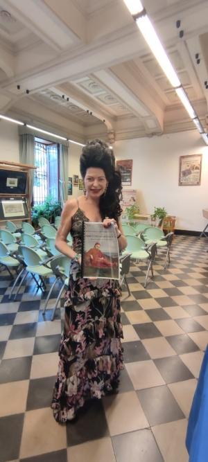 Visita della scrittrice tedesca Nicole Rose alla Biblioteca Regionale Universitaria di Messina