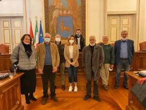 La Pro Loco progetta  con Spadoni Vinciguerra Manuli Turchetti Sparta' Turiano e Mannino