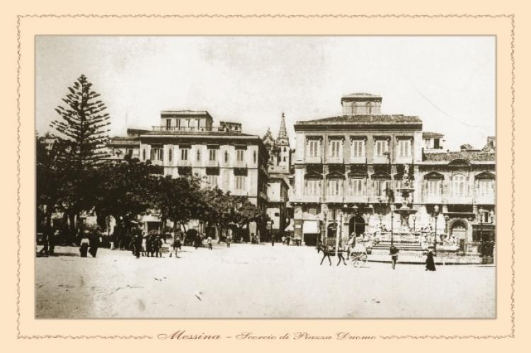 Messina - scorcio di Piazza  Duomo