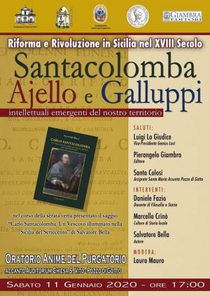Barcellona Pozzo di Gotto: dibattito su Carlo Santacolomba, Eutichio Ajello e Pasquale Galluppi