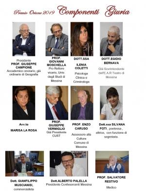 MESSINA - AL LAVORO LA COMMISSIONE PER L'ASSEGNAZIONE DEL PREMIO ORIONE 2019