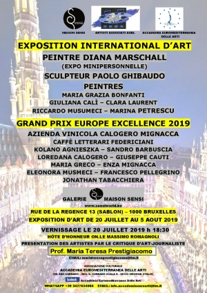Mostra di Bruxelles Presentata da Maria Teresa Prestigiacomo