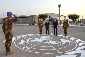 Libano: visita ufficiale del Ministro Lorenzo Guerini
