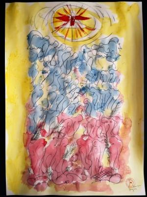 Da Massimiliano Ferragina Pittore noto di Roma. Riflessioni e Storia sul giorno dei Santi