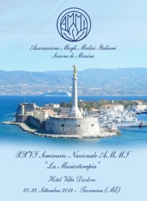 """Seminario Nazionale AMMI """"La Musicoterapia"""" il 27 e 28 settembre a Taormina"""