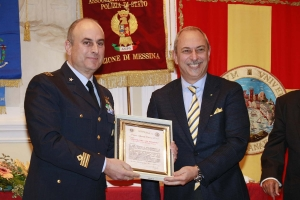 """Messina 6.12.2018 """"Premio Orione Speciale - conferito al """"VELIVOLO BR-1150 ATLANTIC"""" dell'Aeronautica  Militare Italiana"""